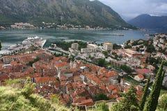 Kotor Old City Montenegro Stock Photo