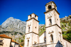 Kotor old city in Montenegro Royalty Free Stock Photography