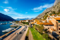 Kotor old city in Montenegro Royalty Free Stock Image