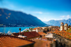 Kotor old city in Montenegro Royalty Free Stock Photos