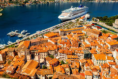 Kotor old city Royalty Free Stock Photos