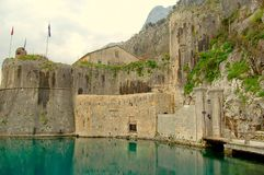 Kotor old town Royalty Free Stock Photos