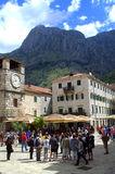 Kotor Old Town,Montenegro Stock Photo