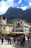 Kotor Old Town,Montenegro Stock Photo