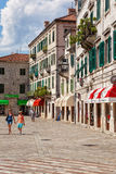 Kotor Old Town Stock Image