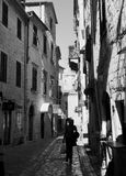 Kotor Old Town street Royalty Free Stock Images