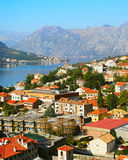 Kotor overlooking, Montenegro Stock Photography