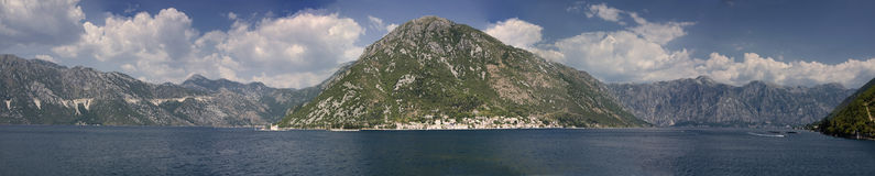 Kotor panorama Royalty Free Stock Photos