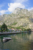 Kotor riverbank Royalty Free Stock Photos