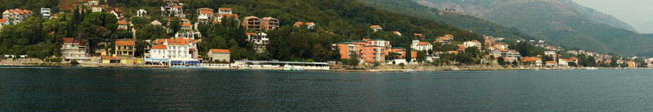 Kotor's panorama Stock Image