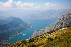 Kotor Schacht, Montenegro Lizenzfreie Stockfotografie