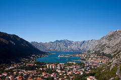 Kotor Skyline Royalty Free Stock Photo