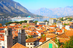 Kotor skyline Stock Photo