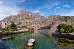 Kotor-Stadtmauer-Verstärkung Lizenzfreie Stockfotos