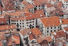 Kotor stary miasteczko w Montenegro obrazy royalty free