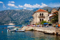 Kotor town in Montenegro Royalty Free Stock Photography