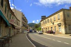 Kotor town street view,Montenegro Stock Image