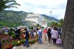 Kotor town view,Montenegro Stock Image