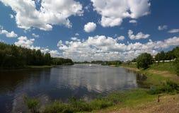Kotorosl River. Yaroslavl. Russia Stock Photo