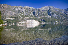 Kotorska Bay in Montenegro Royalty Free Stock Photography