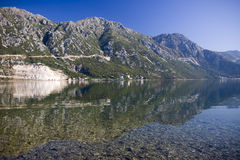 Kotorska Bay in Montenegro Royalty Free Stock Photos