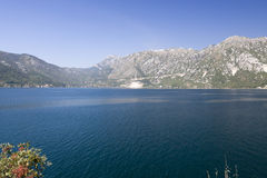 Kotorska Bay in Montenegro Royalty Free Stock Images