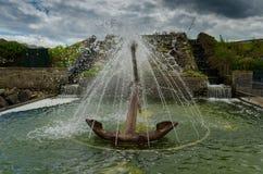 Kotwicowa fontanna Fotografia Royalty Free