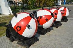 Kotwicowe kontaktowe kopalnie w Kaliningrad Zdjęcia Royalty Free
