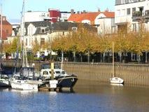 kotwicowe łodzie opadowy Oldenburg Obrazy Royalty Free