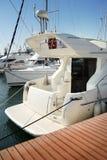 kotwicowi biały jachty Obraz Stock
