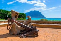 Kotwicowy dopatrywanie morze Zdjęcie Royalty Free