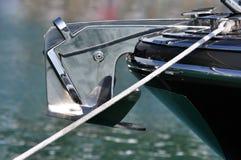 kotwicowy jacht Zdjęcie Royalty Free