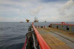 Kotwicowy Obchodzi się naczynie robi Kotwicowej Obchodzi się operaci dla Na morzu Jack takielunku Up (statek) obrazy royalty free
