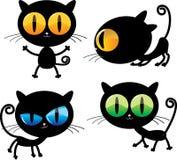 koty śmieszni Zdjęcia Royalty Free