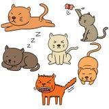 Koty ilustracji