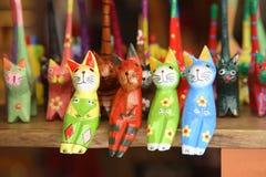 koty kolorowi zdjęcia stock