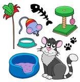 koty zbierania danych Obrazy Stock