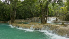 Kouang Si Waterfall, Laos Stock Images