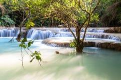 Kouang Xi Fall, Laos Stock Photography
