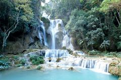 Kouang XI vattenfall Royaltyfri Foto