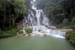 Kouangxi瀑布上面  库存照片