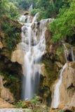 Kouangxi vattennedgång Arkivfoton