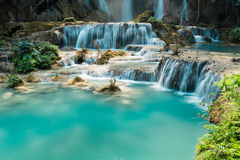 Kouangxi Water Fall in Laung prabang,Laos stock photo