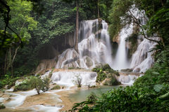 Kouangxi Waterfalls around Luang Prabang,  Laos Stock Photography