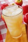 Koud appelsap stock foto's