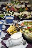Koud buffet stock foto