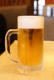Koud glas bier Royalty-vrije Stock Afbeelding