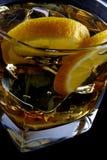 Koud glas van alcohol Royalty-vrije Stock Fotografie