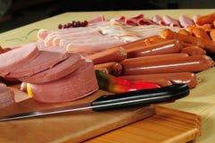 Koud vlees Royalty-vrije Stock Afbeeldingen