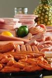 Koud vlees. Stock Foto